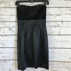Banana Republic Strapless Little Black Dress